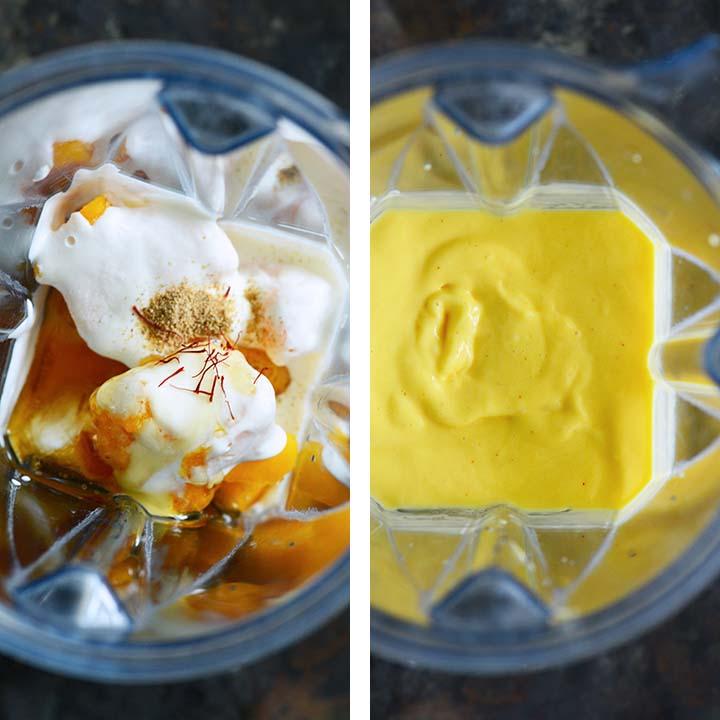 how to make a mango lassi