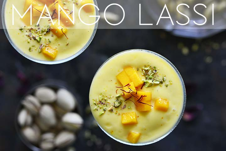 mango lassi with description