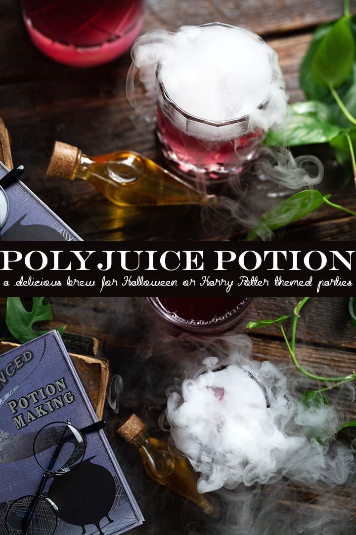 polyjuice potion recipe pin