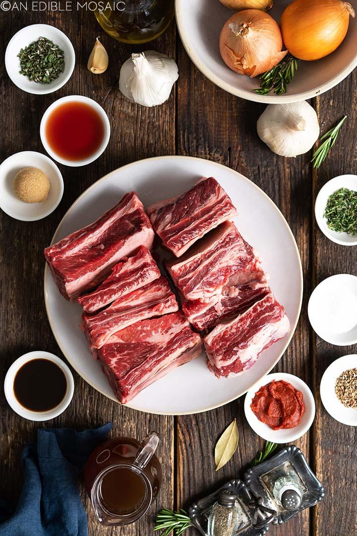 beef short ribs ingredients