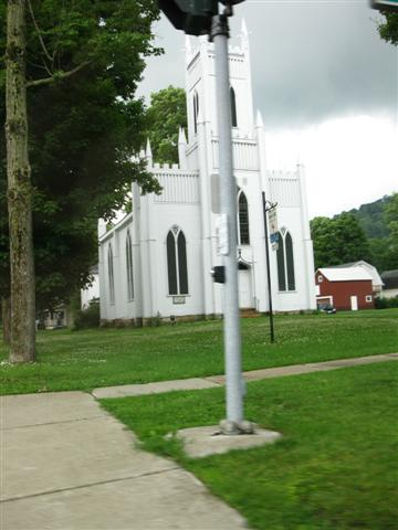 A Gothic-Looking Church In Ellicottville