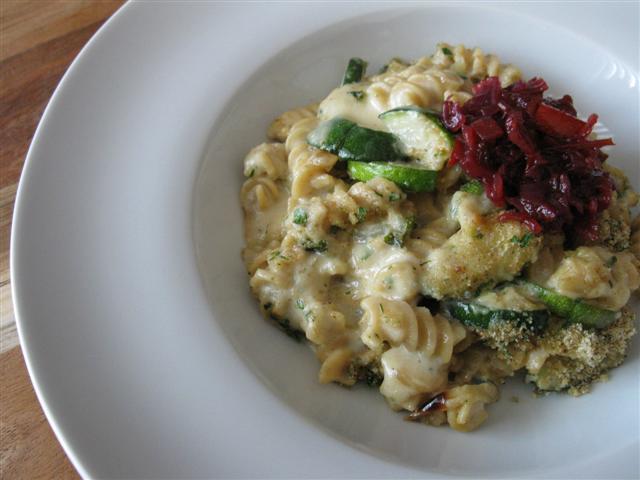 Picadilly Relish on Bleu Cheese Mac