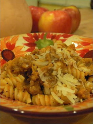 pasta-with-pumpkin-sausage-by-the-wandering-cook