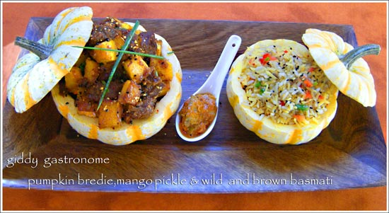 pumpkin-bredie-mango-pickle-wild-brown-basmati-by-giddy-gastronome