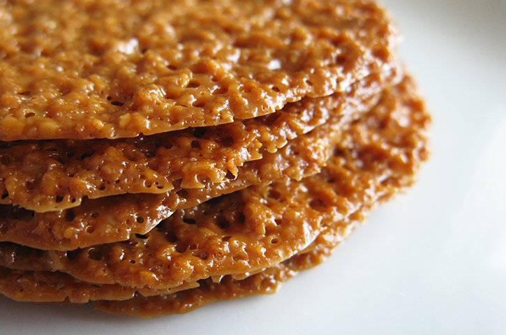vegan gluten free florentines almond lace cookies butterscotch cookies ...
