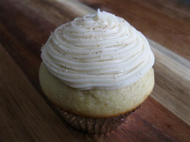 Eggnog Cupcakes Eggnog cupcakes with eggnog