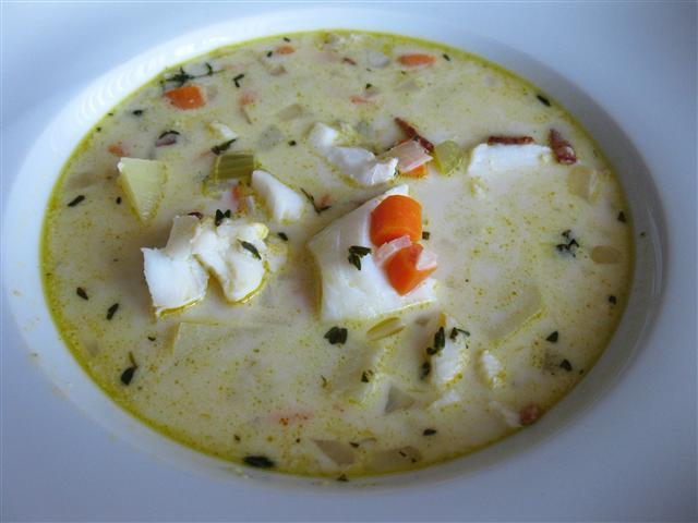 New england style fish chowder for New england fish chowder