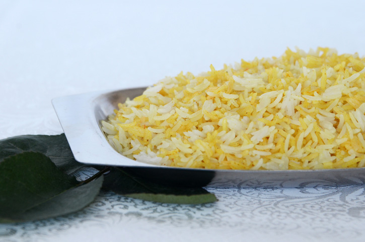 White Yellow Rice An Edible Mosaic