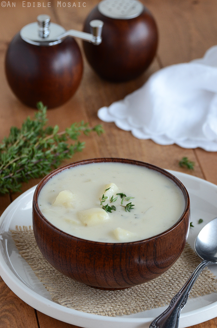 how to make potato and onion soup