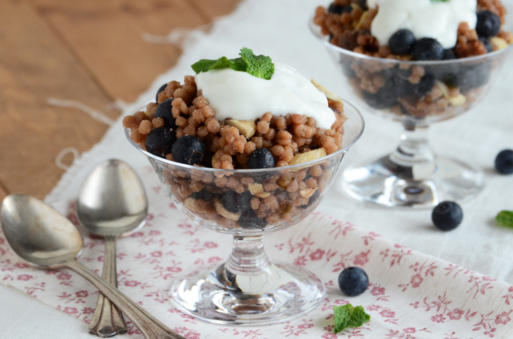 Vanilla-Berry Whole Wheat Couscous Breakfast Pilaf {And a ...
