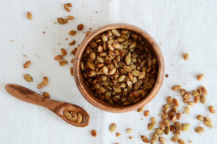 Sweet Spiced Pumpkin Seeds