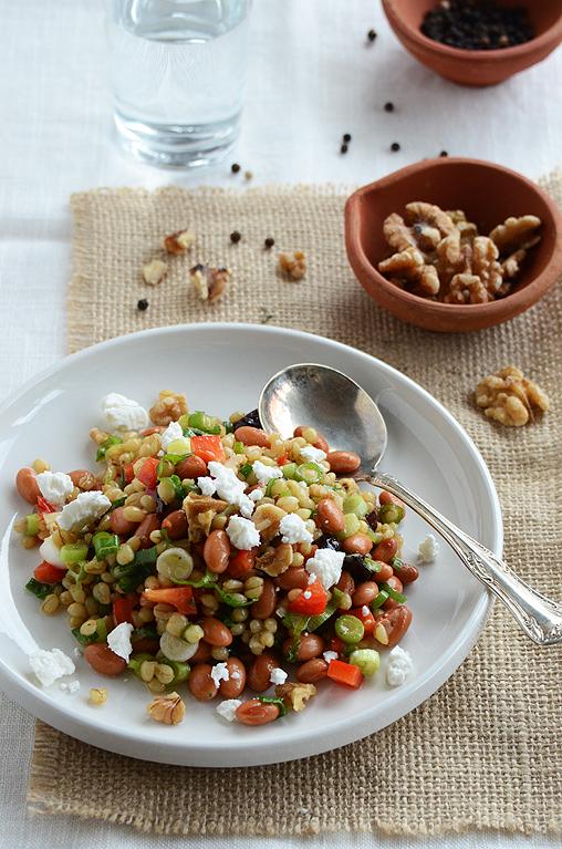 Wheat Berry Salad with Fruity Vinaigrette