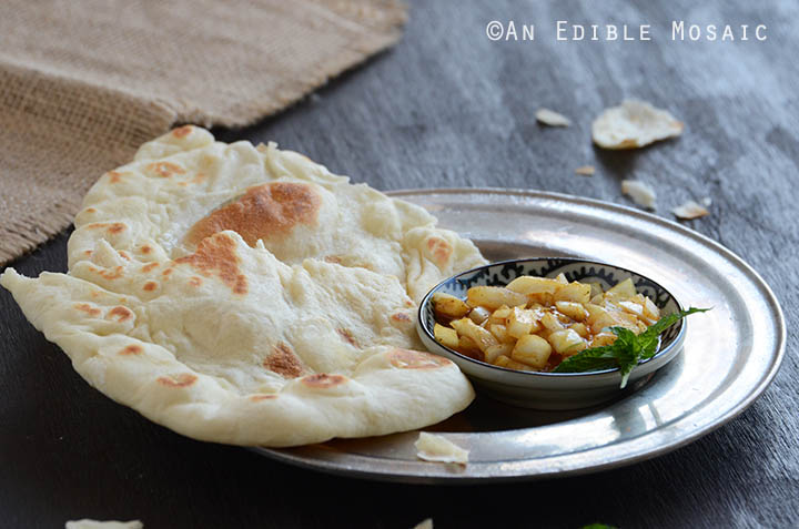 ... Thai Chicken Naan Pizza Recipe with Peanut Sauce, Red Pepper