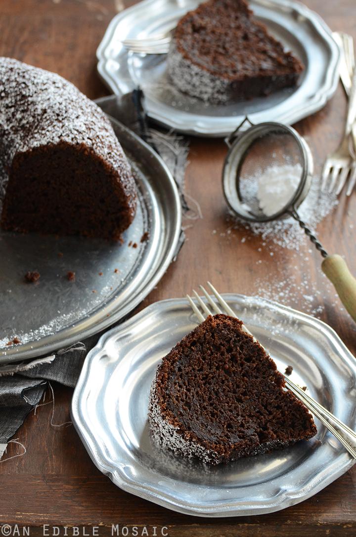 Recipe For Chocolate Zucchini Cake With Applesauce