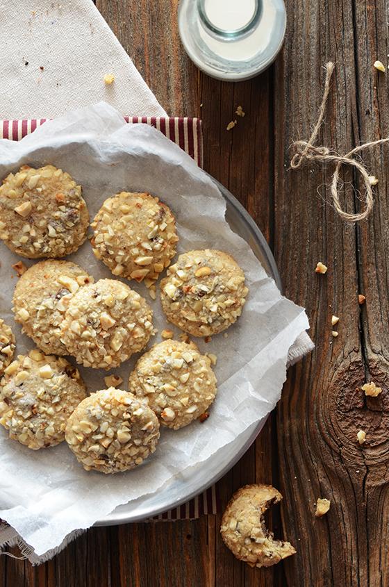 Toasted Hazelnut Chocolate-Espresso Cookies