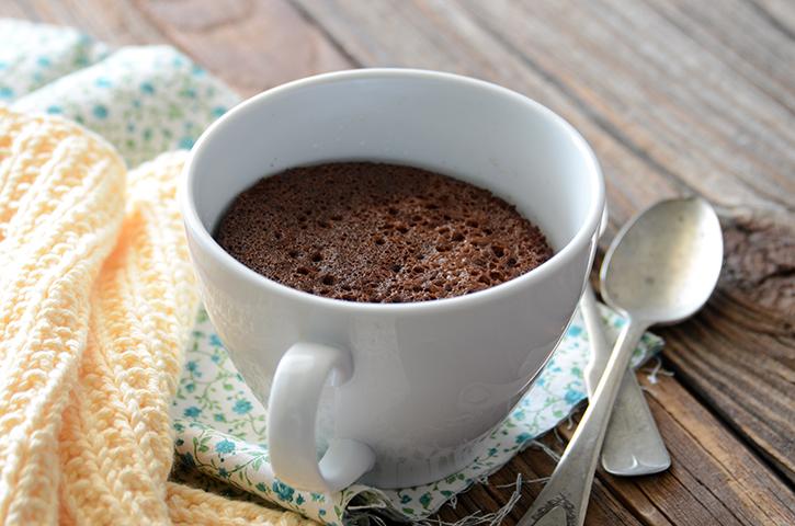 Salted Caramel Mug Cake Paleo