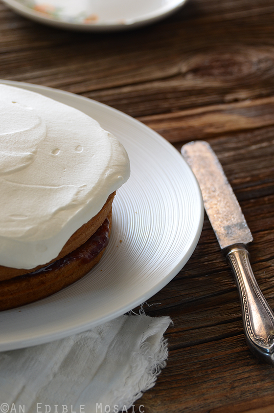 ... -Filled Vanilla Layer Cake with {Stabilized} Whipped Cream Frosting