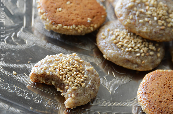 Soft and Chewy Tahini, Honey, and Almond Cookies {Paleo} 4