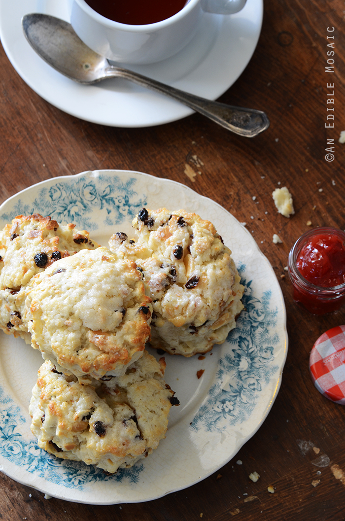 Cranberry Almond Scones {Crazy for Cranberry}
