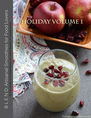 Blend Holiday Volume 1 E-Cookbook Cover