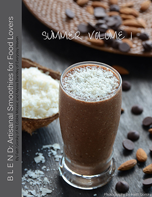 Blend Summer Volume 1 E-Cookbook Cover