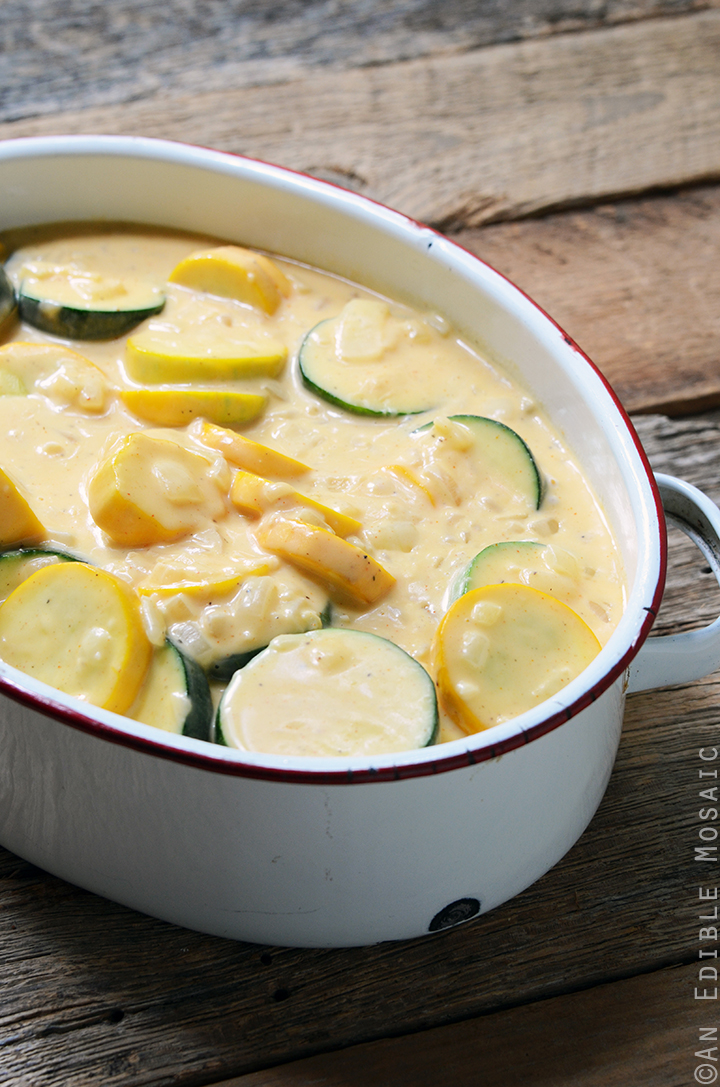 ... Recipe Girl for the full recipe for my Cheesy Summer Squash Gratin