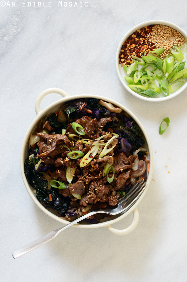 Korean Barbeque Beef (Bulgogi)