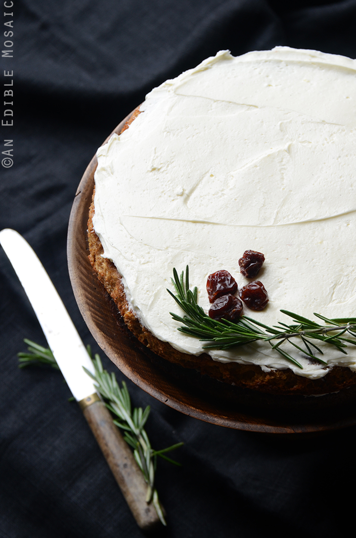 cherry almond wedding cake recipe gluten free cherry almond cake with rosemary vanilla bean 12639