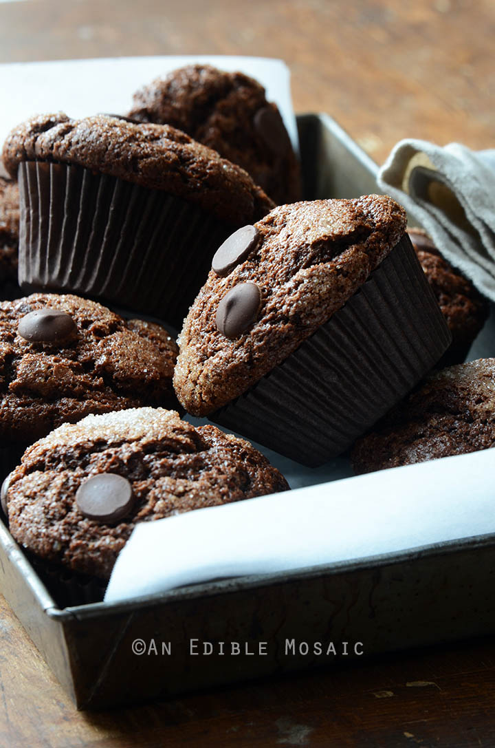 Mexican-Spiced Triple Chocolate Muffins Recipe