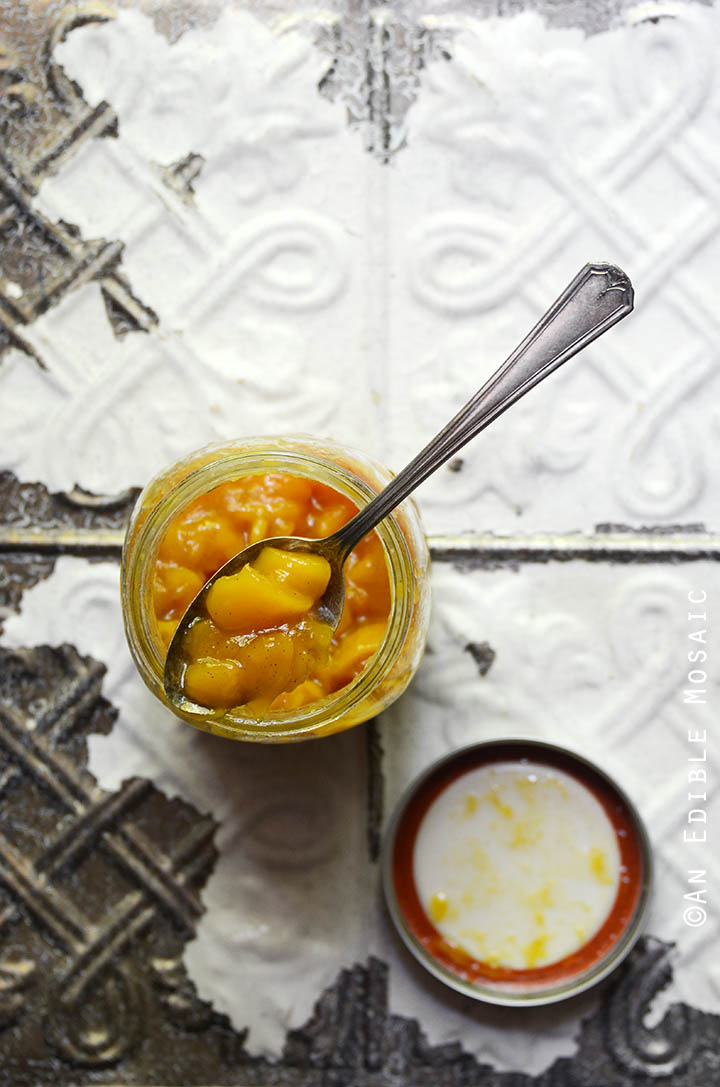 Mango And Vanilla Jam Recipe — Dishmaps